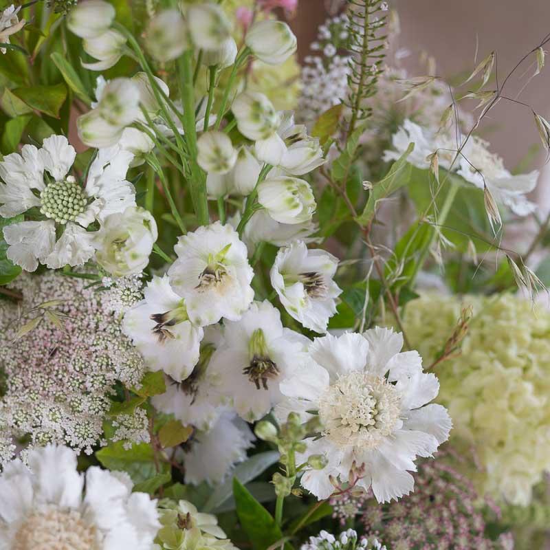 Delphinium Bridal bouquet