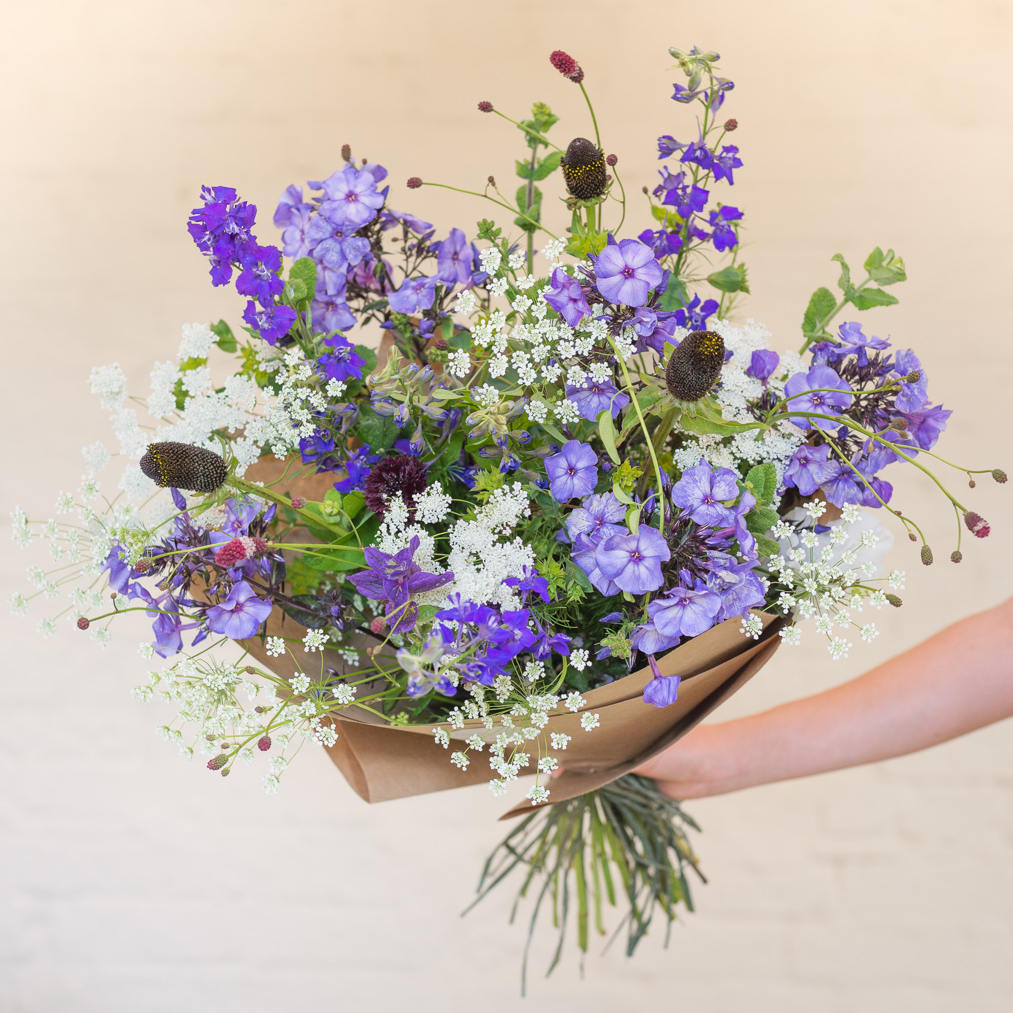 English seasonal bouquet